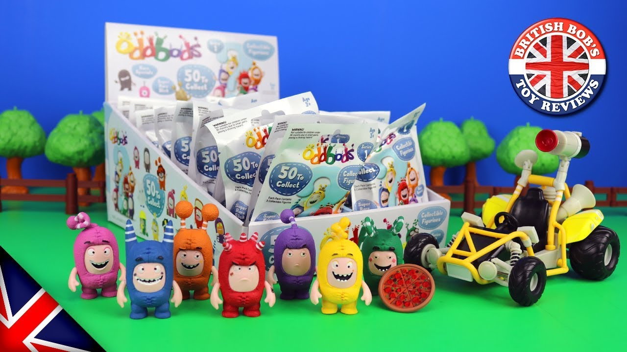 d90ae8b8a29 Oddbods Series 1 Blind Bags - Opening all 50 collectibles and ...