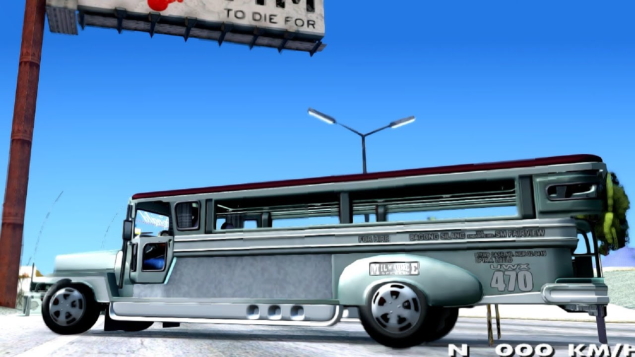 Milwaukee Motors Custom Jeepney Gta San Andreas