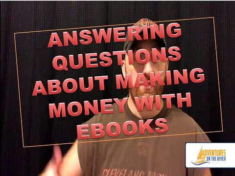 FULL TIME INCOME SELLING KINDLE EBOOKS??? | Answering questions about selling ebooks