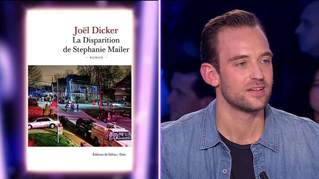 Joël Dicker - On n'est pas couché 24 mars 2018 #ONPC
