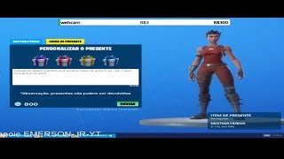 FORTNITE GIVING THE DRAW WINNER'S SKIN AS PROMISED