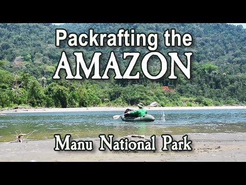 Packrafting Expedition in the Amazon Jungle in Manu, Peru - Jungle River Scouting