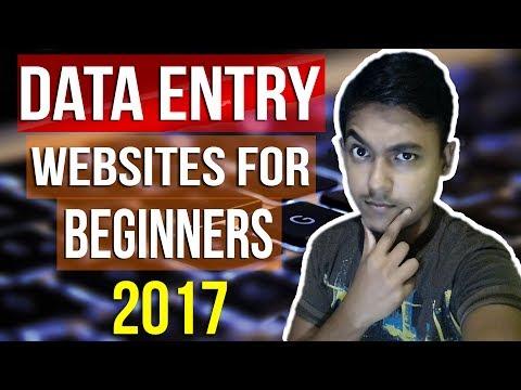 Best Data Entry Job Websites For Beginners 2017