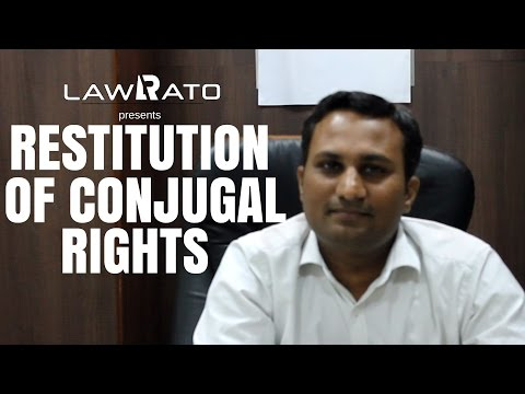Restitution of conjugal rights