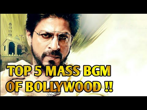 Top 5 Mass Bgm's of Bollywood Movies ! Must Watch