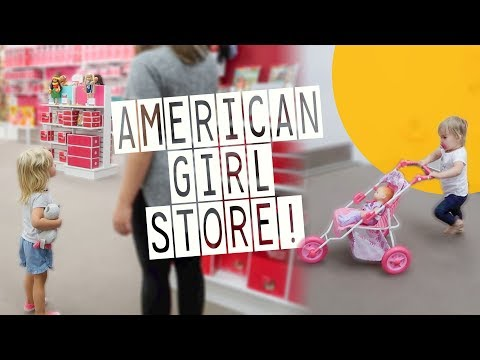 Exploring Raleigh! | Their FIRST American Girl Store Experience.