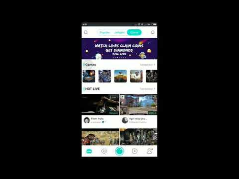 TERBARU Cara Live Game Android Di Bigolive
