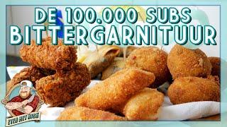 DE 100.000 SUBS BITTERGARNITUUR!!! | EtenmetNick | How to