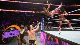 Cedric Alexander vs. Gran Metalik vs. TJP vs. Lio Rush vs. Tony Nese: WWE 205 Live, Oct. 17, 2018