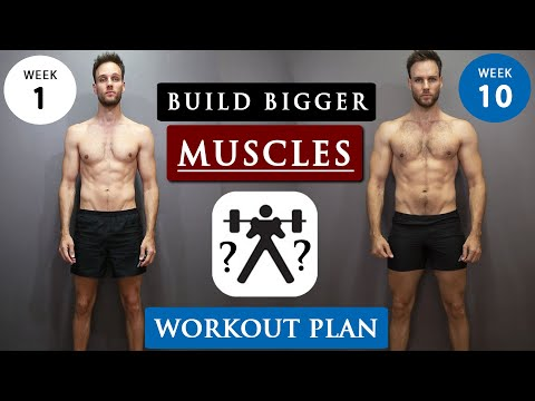 How to GAIN MUSCLE for SKINNY GUYS | Full WORKOUT ROUTINE