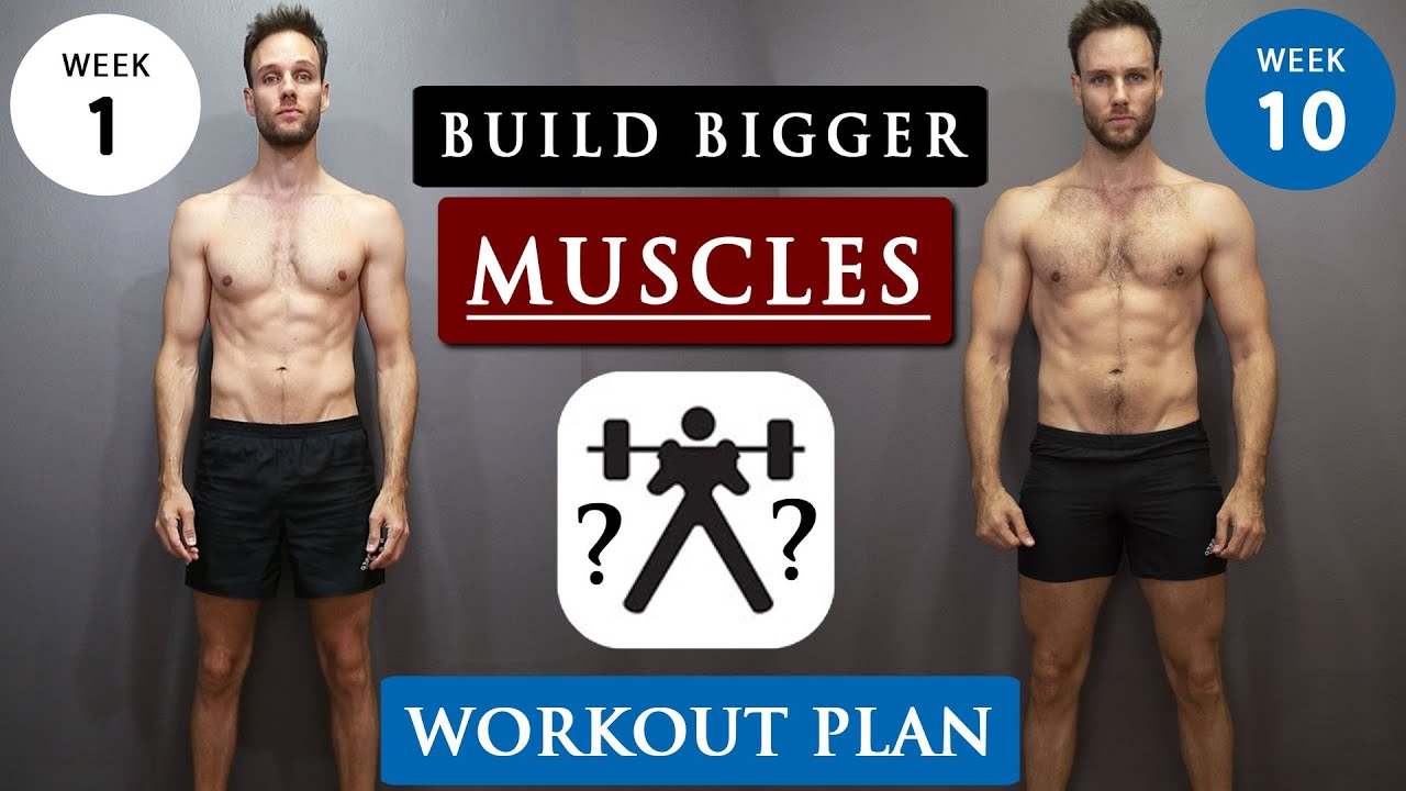 Download How to GAIN MUSCLE for SKINNY GUYS | Full WORKOUT ROUTINE