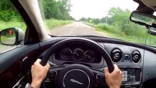 2013 Jaguar XJ AWD - WR TV POV Test Drive