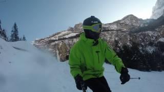 Skifahren Kandersteg-Oeschinensee