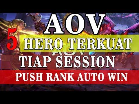 5 HERO TERKUAT DI AOV DI SETIAP SESSION Arena Of Valor