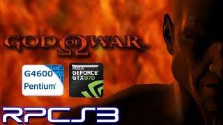 RPCS3 0.0.5-7773 (PS3 Emulator) - God of War HD - Pentium G4600 - GTX 970 - Test (OpenGL/Vulkan)