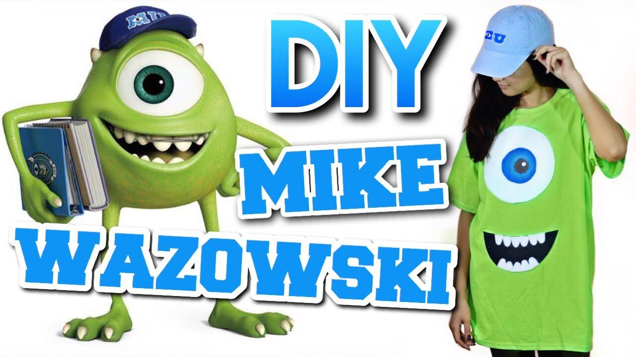 Diy Mike Wazowski Halloween Costume Halloween Costume Under 5 Youtube