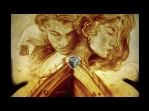 Menakjubkan,Kisah Titanic digambarkan dalam Sand Painting Seni Lukis Pasir