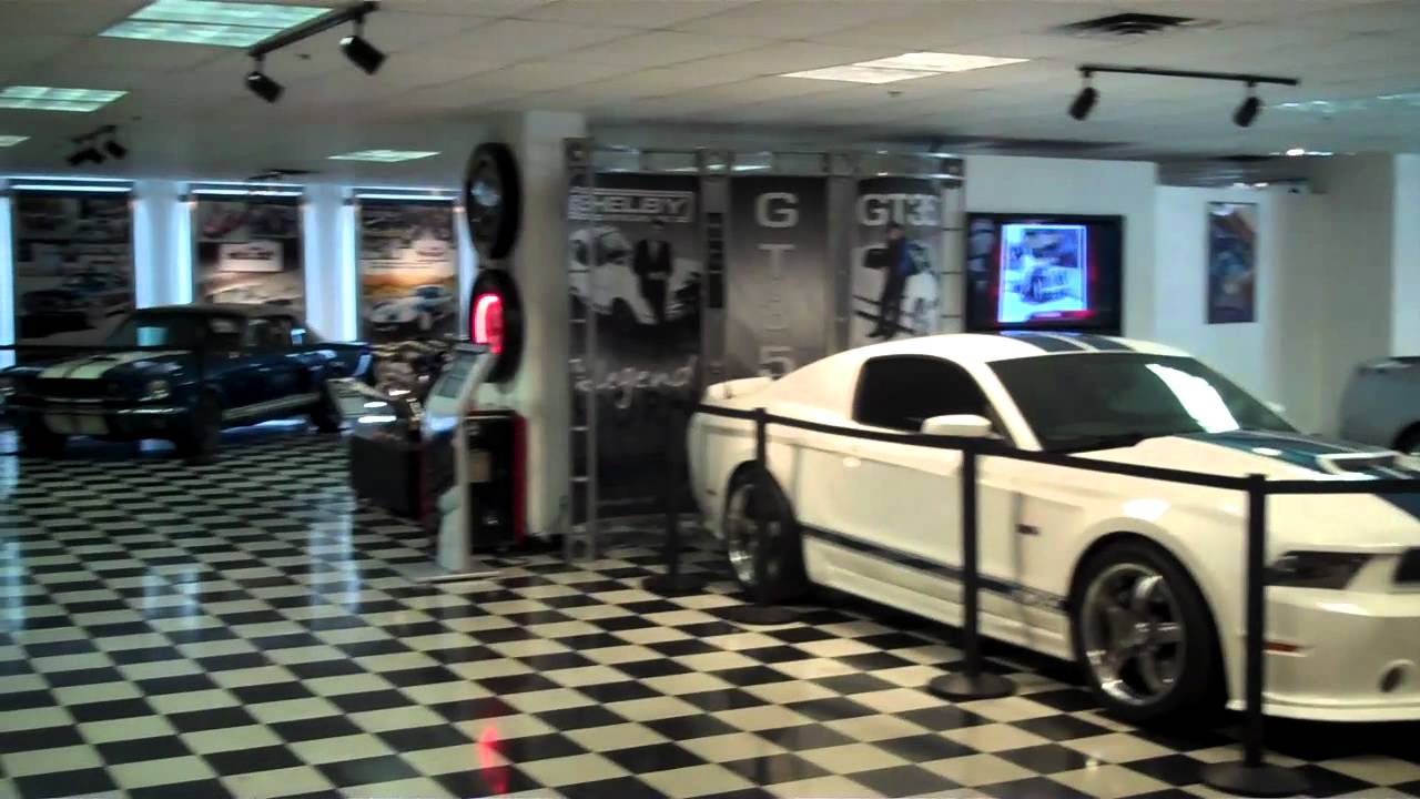 tour shelby cobra museum and factory las vegas mustang car youtube. Black Bedroom Furniture Sets. Home Design Ideas
