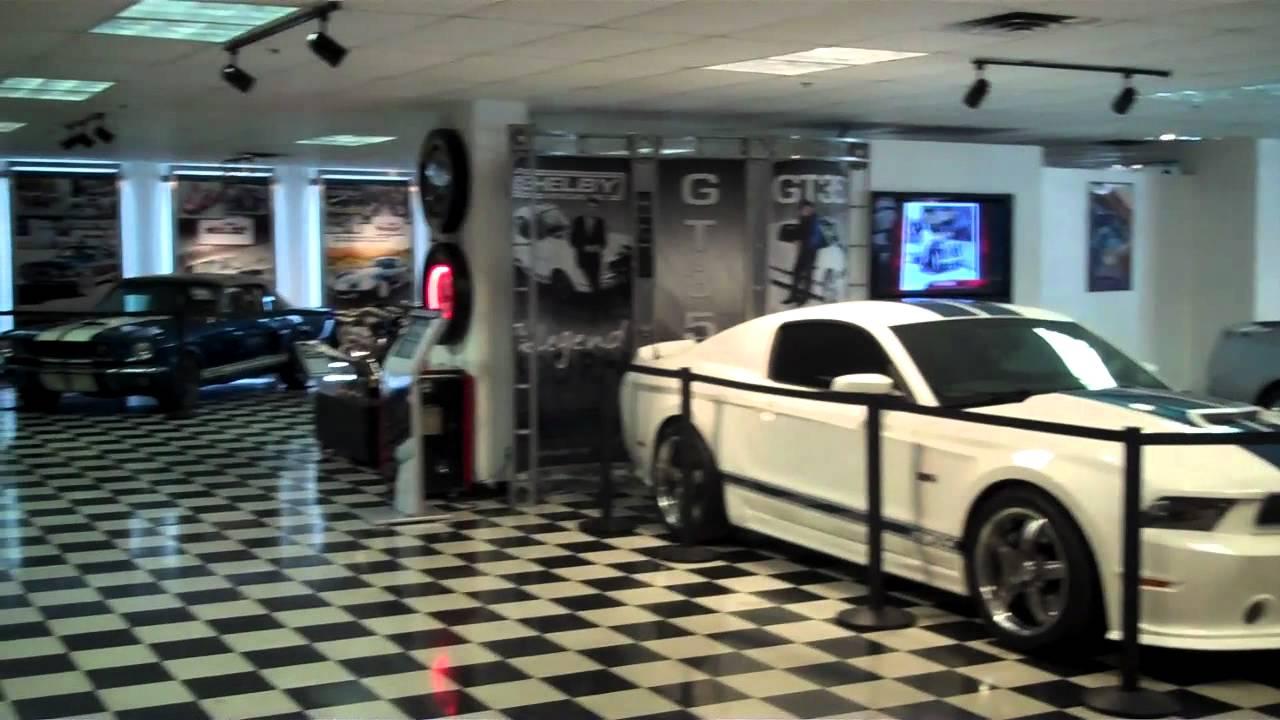 Auto World Las Vegas >> Tour Shelby Cobra Museum and Factory Las Vegas Mustang Car - YouTube
