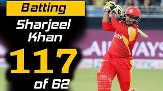 Sharjeel Khan Superb 117 Runs in 62 Balls   Islamabad United Vs Peshawar Zalmi   HBL PSL