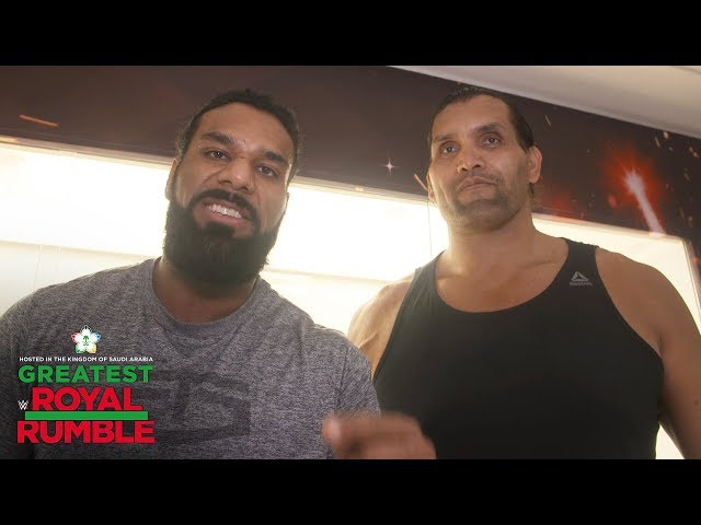 The Great Khali returns to compete in the Greatest Royal Rumble Match: WWE Exclusive, April 27, 2018