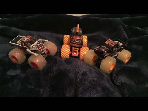 3 Spin Master Monster Jam Trucks Unboxing And Review