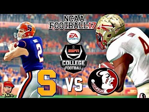 NCAA Football 17 | (#17) Florida State vs Syracuse | College Football Kick-Off Gameplay!