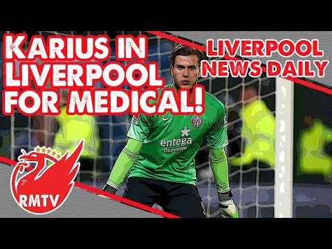 Karius in Liverpool For Medical! | LFC Daily News