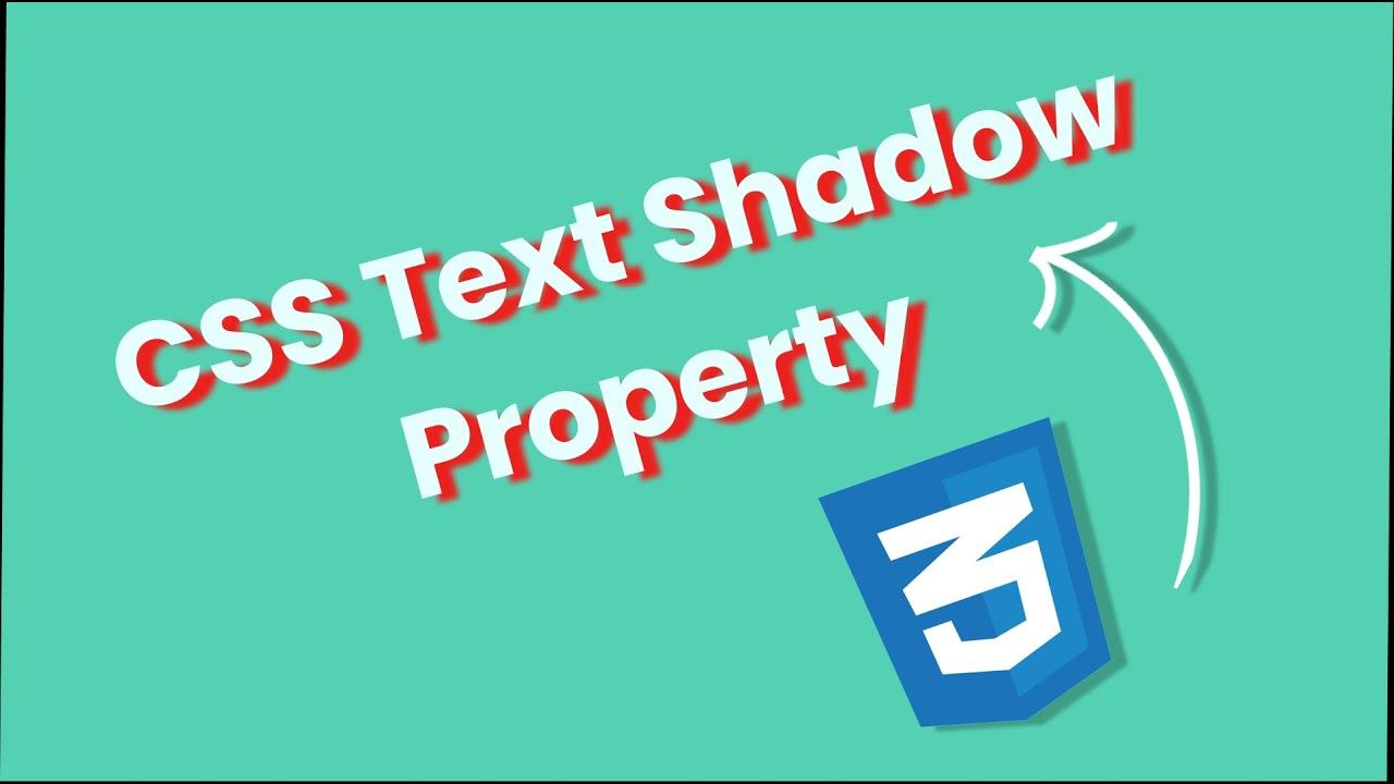 CSS Text-Shadow Property #csstricks