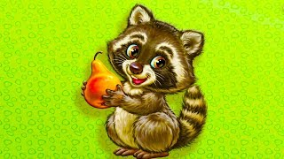 ЛЕСНЫЕ ЖИВОТНЫЕ. Развивающее видео для самых маленьких. Учим  лесных животных