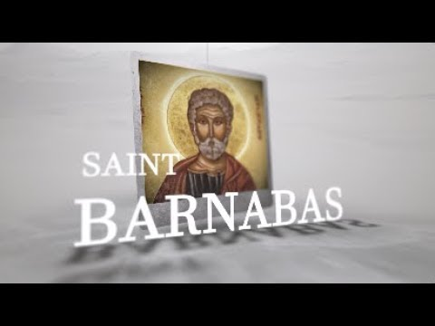 Saint of the Day — Barnabas — June 11th