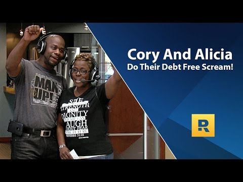 Cory and Alicia\'s Debt Free Scream! Paid off $92,882 in 30 months.