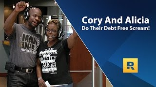 Cory and Alicia's Debt Free Scream! Paid off $92,882 in 30 months.