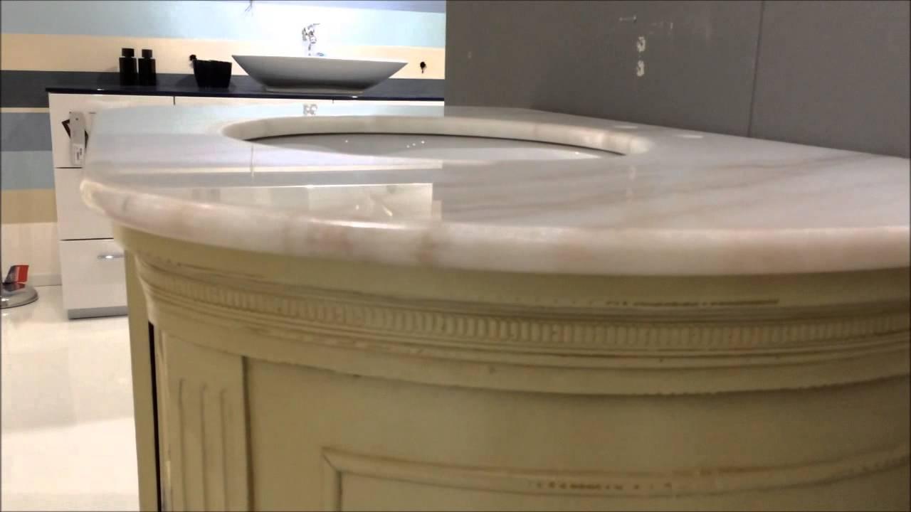 Mobile da bagno classico - Gardinistore - YouTube