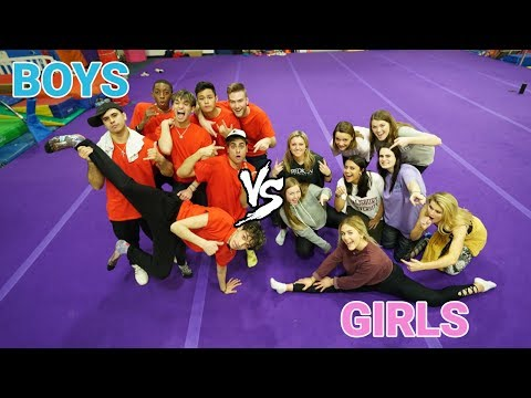 GIRLS vs. BOYS DANCE Challenge!