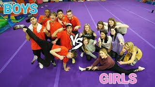 girls vs guys dance challenge