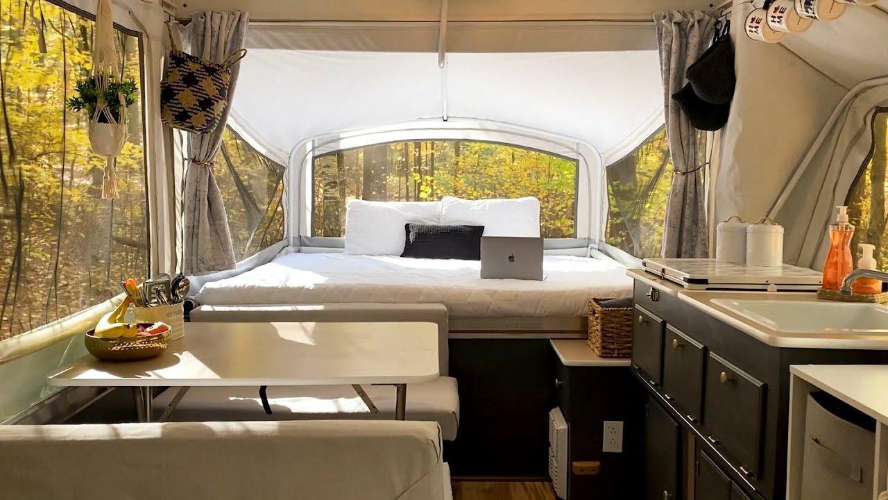 Stunning Coleman Pop Up Camper Remodel