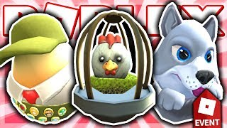 HOW TO GET CUDDLES THE EGG, THE CHICKEN OR THE EGG, & EGGLE SCOUT! (Roblox EGG HUNT Event 2019)