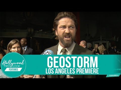GEOSTORM Los Angeles Premiere  Abbie Cornish, Gerard Butler, Judd Lormand & more!