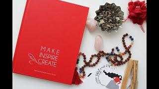 MAKE INSPIRE CREATE Kadınlara İlham Olan Senelik Zamansız Ajanda