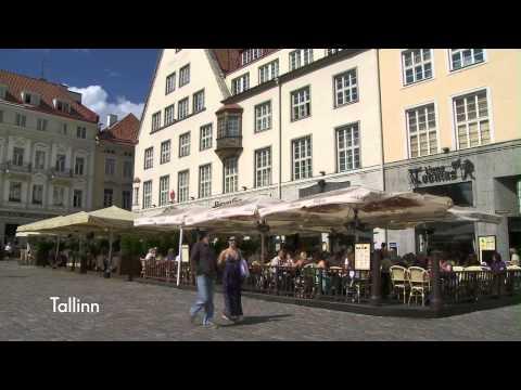 Cunard's Baltic Ports of Call -Tallinn, Estonia