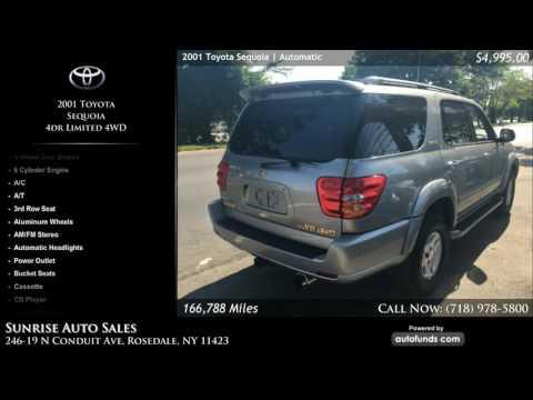 Used 2001 Toyota Sequoia | Sunrise Auto Sales, Rosedale, NY - SOLD