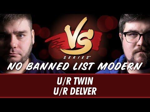 5/24/18 - Anderson VS Brad : U/R Twin VS U/R Delver [No Banned List Modern]