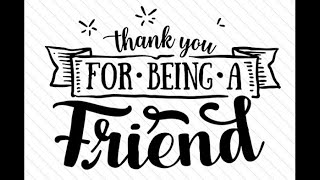 Cynthia Fee - Thank You For Being A Friend