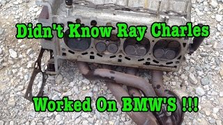 BMW E36 318i M44 Cylinder Head Removal Blown Head Gasket Shenanigans