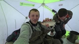 Как поймать много карася зимой на Уелгах