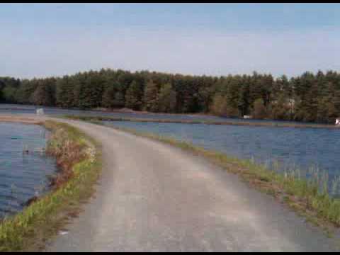 Mountain Biking Trail Riding in Holyoke, Massachusetts Reservoir!
