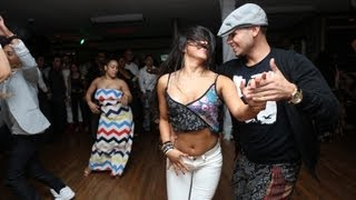 Eddie Torres Jr. & Teresa Garcia at Balmir Latin Dance Studio 2nd Anniversary