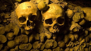 Paris Catacombs Found BONES and Secret Room