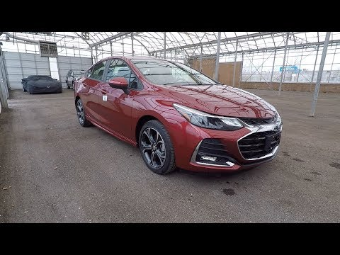 2019 Chevrolet Cruze LT With RS Sport Kit
